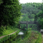 Canal Railway at Consall Forge – © Copyright  and licensed for reuse under this Creative Commons Licence