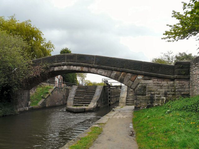 Fairfield Top Lock – © Copyright Gerald England and licensed for reuse under this Creative Commons Licence